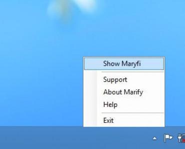 Maryfi - convierte tu portatil en un punto de acceso WiFi