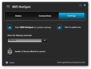 WiFi HotSpot la forma más sencilla para compartir tu conexión de Internet