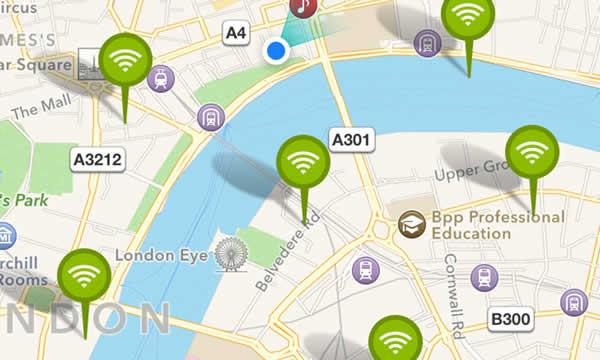 puntos wifi gratuitos wifimapper